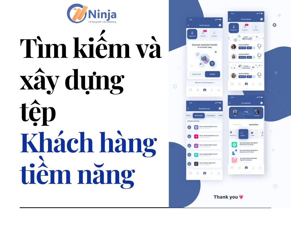 Tìm kiếm và xây dựng tệp khách hàng tiềm năng trên Facebook