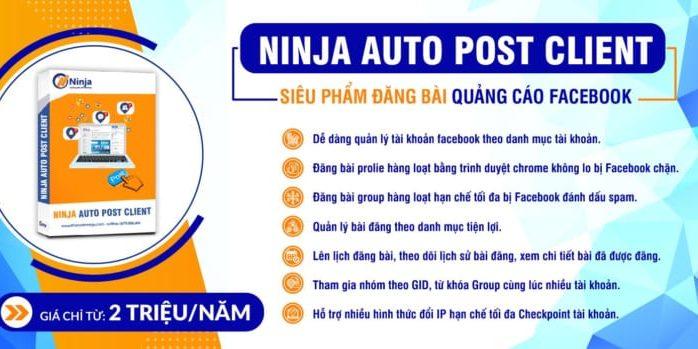 Phần mềm đăng bài tự động ninja auto post