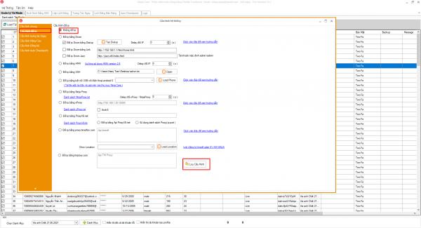 Cấu hình đổi IP trên phần mềm Ninja care